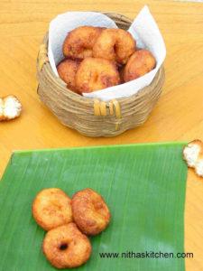 Sweet Methu Vada உளுந்து கச்சாயம் | Inippu Ulunthu Vadai