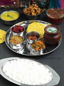 South Indian Special Veg Lunch Menu | Kongunadu Special Thali