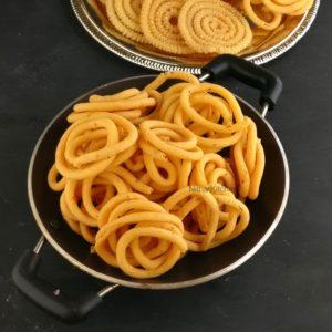 Thenkuzhal Murukku Ulunthu Murukku Recipe
