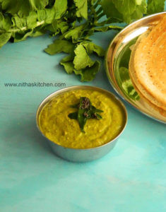Radish Leaves Chutney | Puli Thogayal