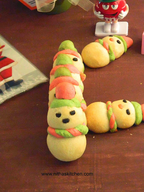 Eggless American Snowman Cookies