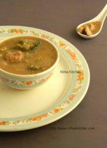 Quinoa Celery Broccoli Chicken Soup | Diet Soup Recipe