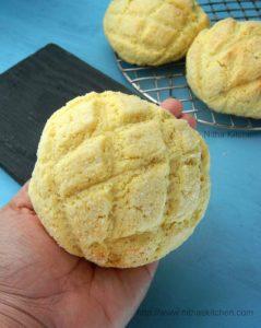 Melon Pan | Japanese Melon Bread Recipe
