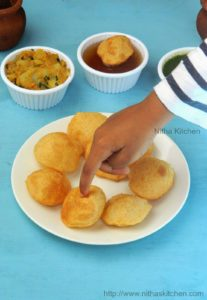 Gol Gappe | Homemade Pani Puri | Wheat Flour Gal Gappe with 4 Flavors of Pani