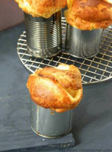 Plain or Sweet Popovers | No Special Pan Required