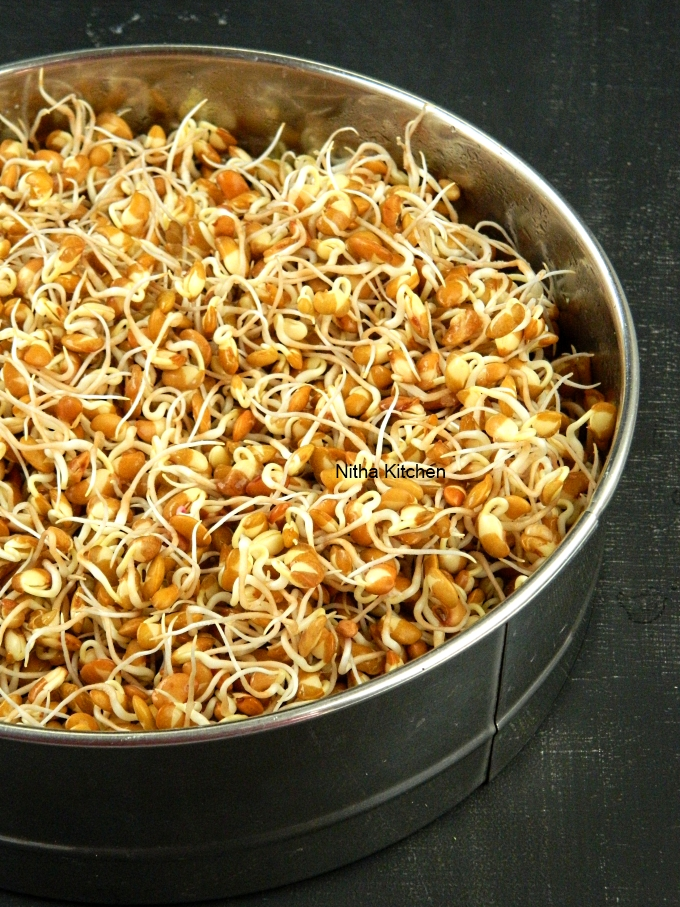 How to make Horse Gram Sprouts முளை கட்டிய கொள்ளு