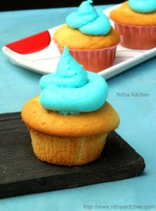Eggless Vanilla Cupcakes | Party Cupcakes | Birthday Party Ideas