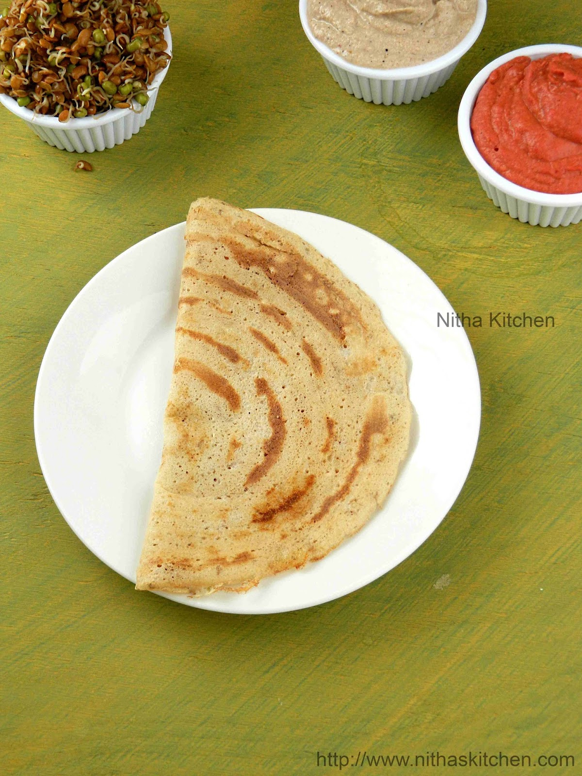 Sprouted Kollu Horse Gram Idli Dosa Batter Recipe