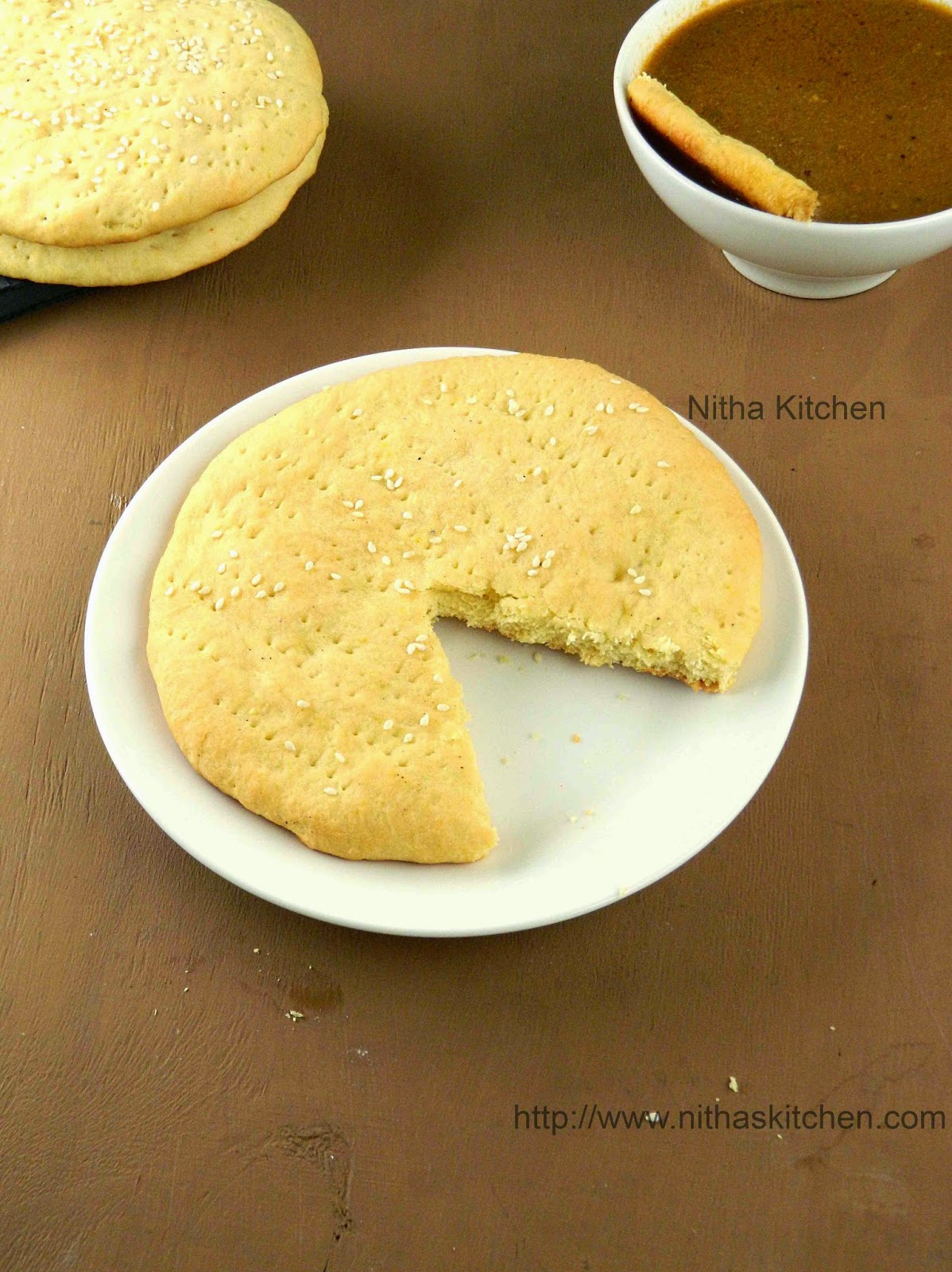 Sheermal | Shirmal | Saffron Flavored Flat Bread