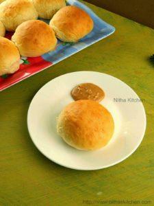 Eggless Kopitiam Milk Buns with Express Caramel Kaya | Malaysian Coffee Shop Buns