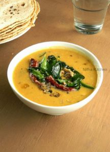 Dal Tadka | Nutritious Tadka Dhal For Rice and Chapathi