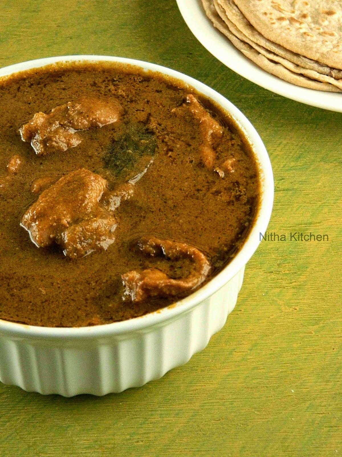 Authentic Goan Chicken Curry Spicy Chicken Curry Recipe Nitha Kitchen