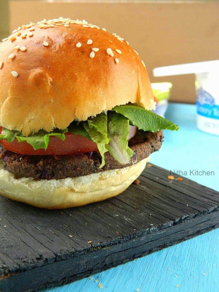 Veg Burger Buns | Soft Dinner Rolls | Ladi Pav Buns From Scratch