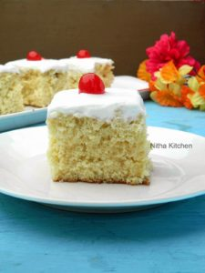 Tres Leches Cake | Three Milks Cake Recipe
