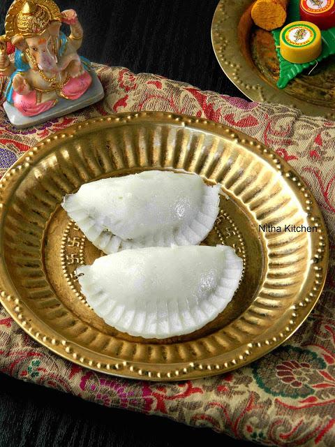 Moong Bean Savory Kozhukattai | Kaara Kozhukattai