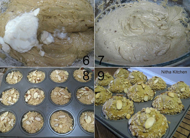 Wheat Banana Muffins4 L