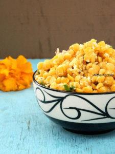 Kadalai Paruppu Sundal | Easy and Quick Chana Dal Sundal for Navratri