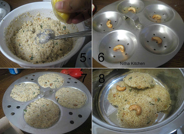 Instant Wheat Rava Idli Semolina Idli Recipe from Scratch