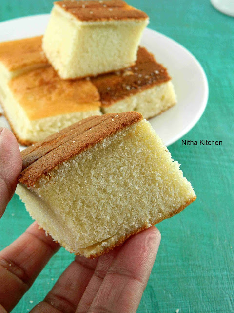 Hot Milk Sponge Cake Recipe with Eggless Option | Step by step tutorial to make plain Vanilla sponge cake