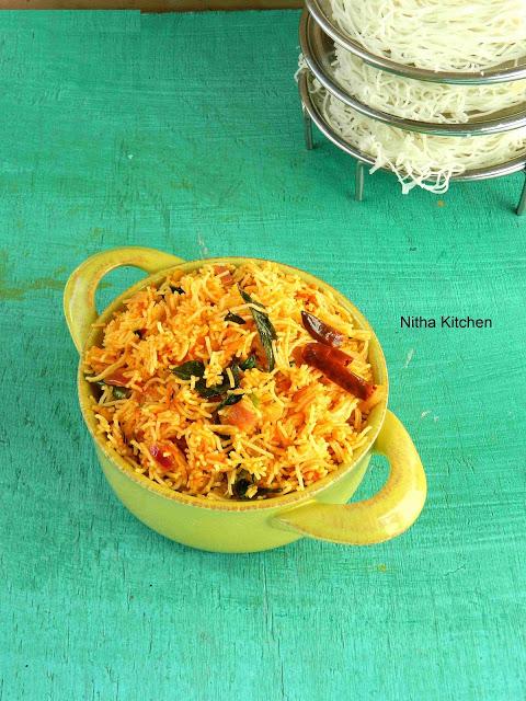 Tomato Sevai | Thakkali Sandhagai | Tomato Idiyappam Recipe