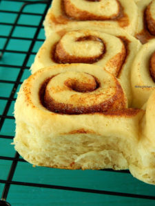 Eggless Cinnamon Rolls Recipe Using Tangzhong Method | Breakfast Rolls Recipe From Scratch