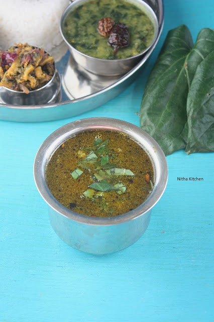 Betel Leaves Vetrilai Paruppu Rasam | Paan Leaves Rasam Recipe