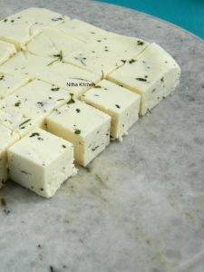 Homemade Firm Paneer For Gravies