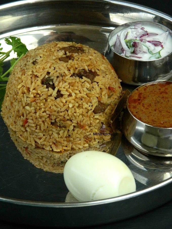 Mutton Samba Biryani Recipe