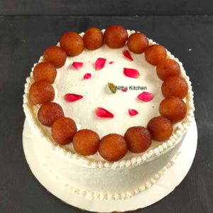 Gulab Jamun Cake From Scratch Recipe