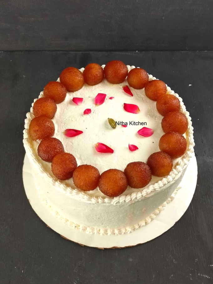 Gulab Jamun Cake Recipe From scratch