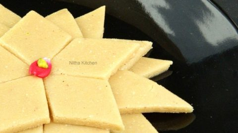 kaju_katli_mundhiri cake video recipe