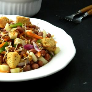 Horse Gram Sprouts Salad | Mulaikatiya Kollu Salad