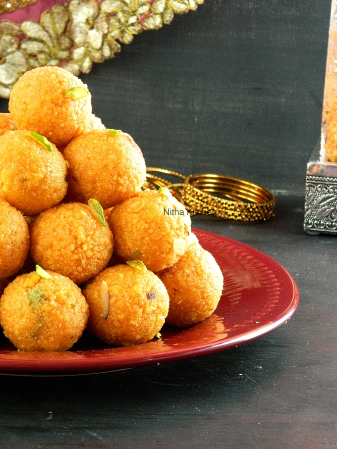 Motichoor ladoo without Using special laddu ladle