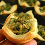 spinach cheese bites using crescent dough