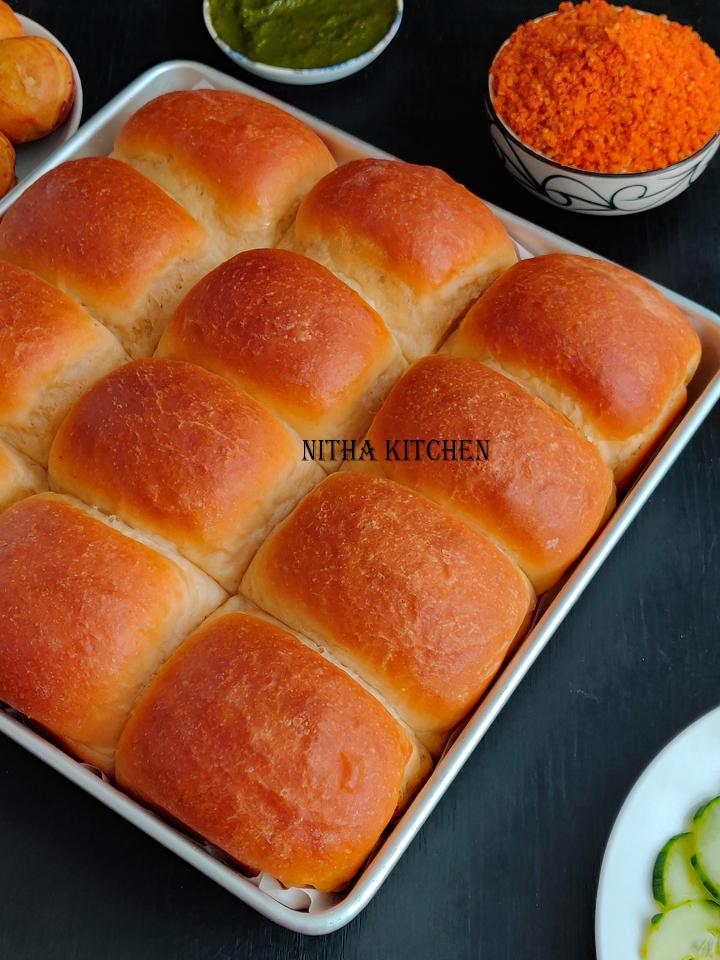 Eggless Ladi Pav eggless ladi pav bread bun video recipe