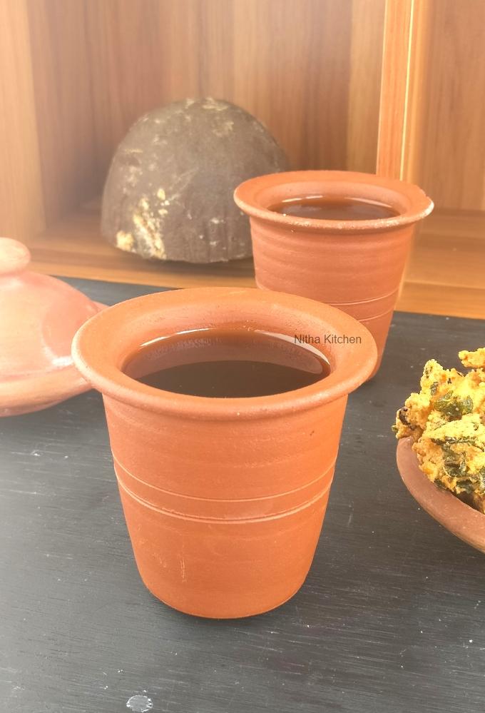 சுக்கு மல்லி கருப்பட்டி காபி recipe