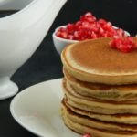 eggless buttermilk pancake recipe and orange wheat buttermilk pancake recipe with video tutorial