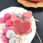 Valentine Cake Pops Heart in Heart Cake Pops