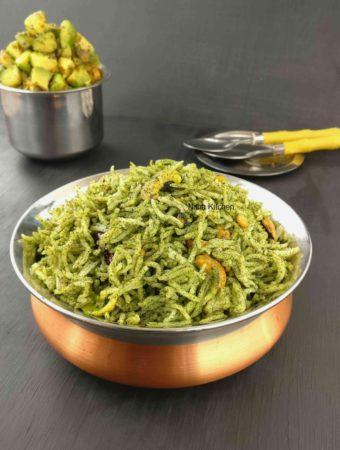 Curry Leaves Rice karuveppilai sadham recipe