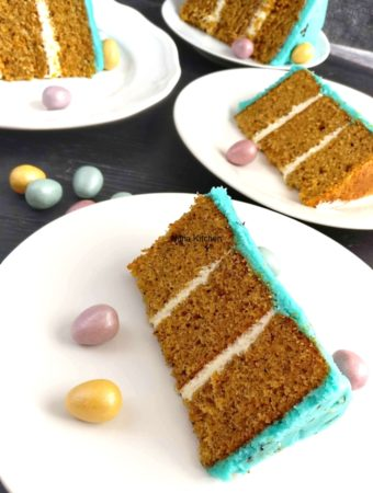 best carrot cake with perfect crsut cream cheese frosting video recipe