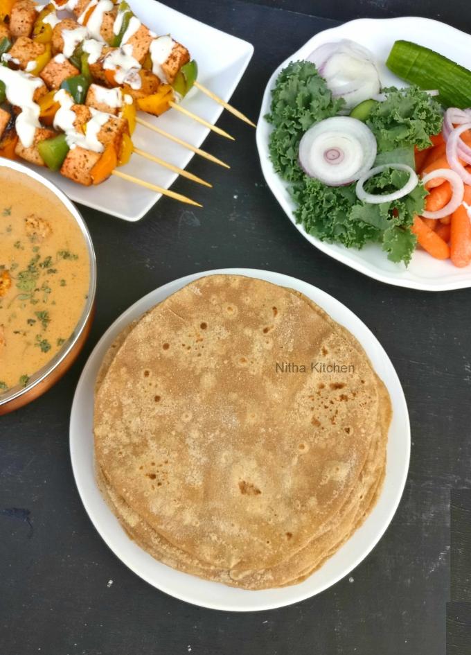 Zero Oil Diet Chapati Video Recipe