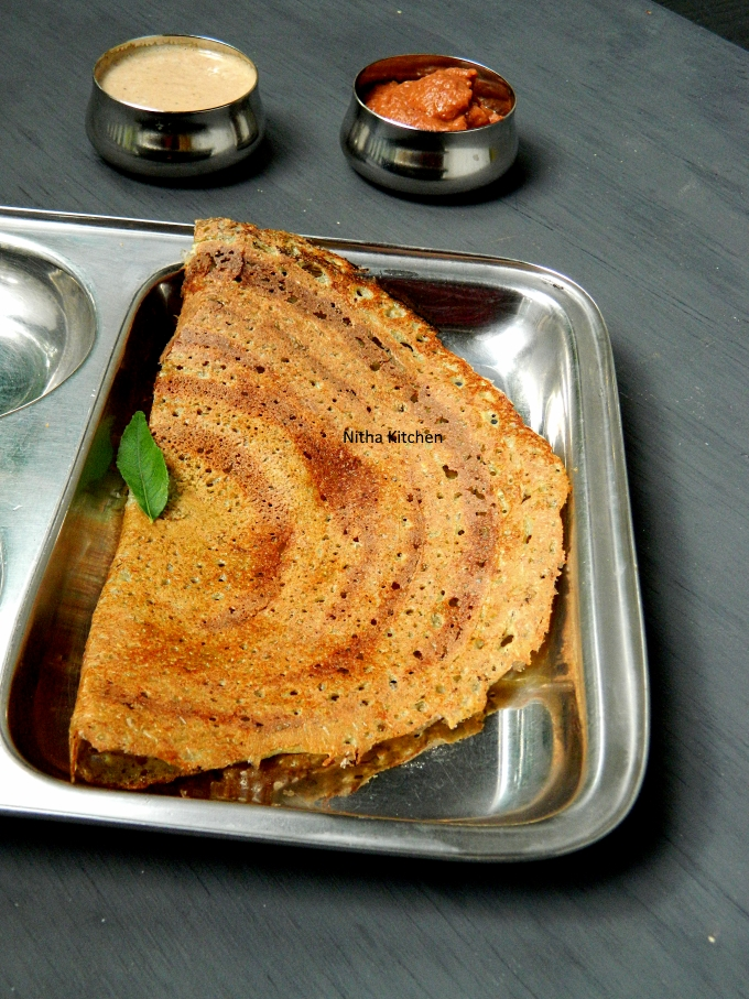Moong Sprouts dosa