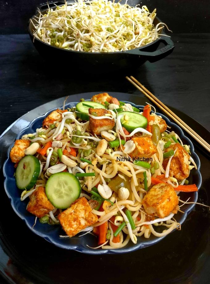 Tofu pad thai2 L