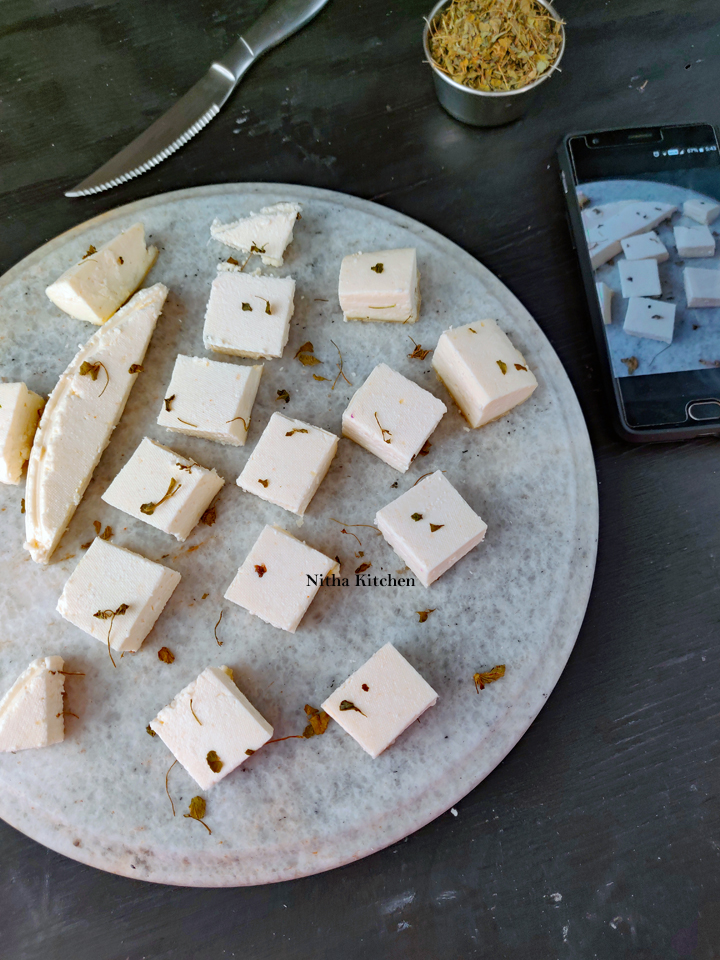 Homemade Firm Paneer For Gravies Video Recipe
