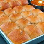 Eggless 100% Whole Wheat Dinner Rolls video recipe