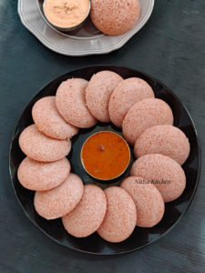 Red Rice Sorghum Idli Dosa Batter Mixie Version
