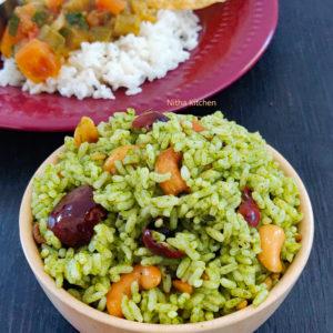 No Onion No Garlic Radish Leaves Variety Rice