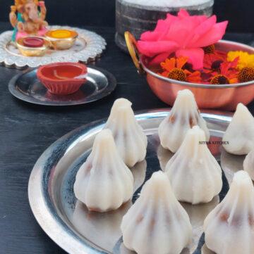 Thengaai Poorana Kozhukattai | Coconut Jaggery Stuffed Modak Video Recipe