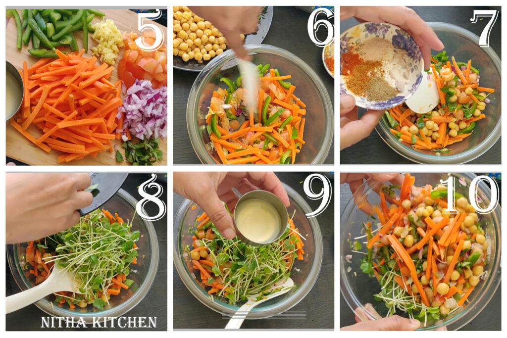 asian salad step2