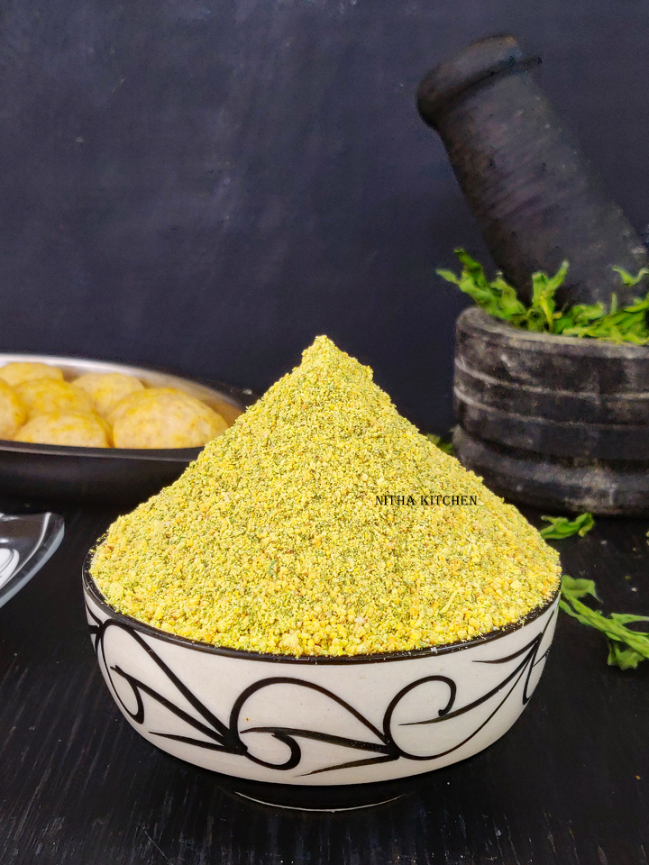 Ponnanganni Keerai Idli Podi Video Recipe